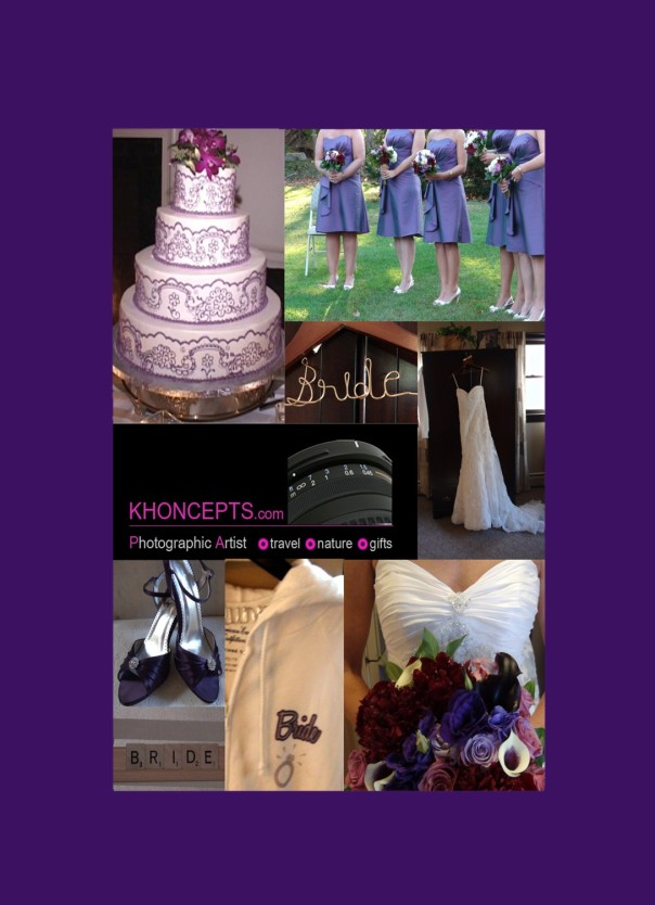 Gorgeous Shades of a Purple Themed Wedding